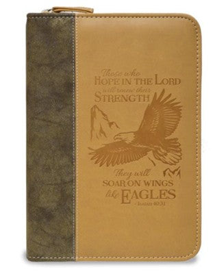 Eagle Zipper Journal, Isaiah 40:31