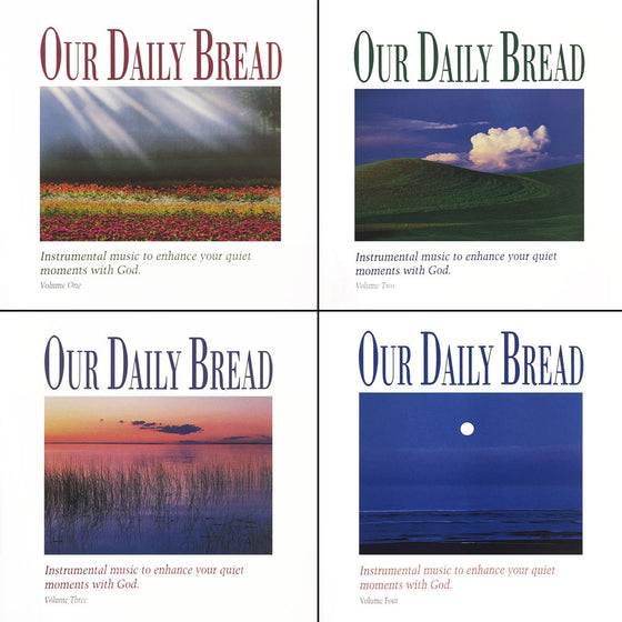 Our Daily Bread, 4 CDs Set