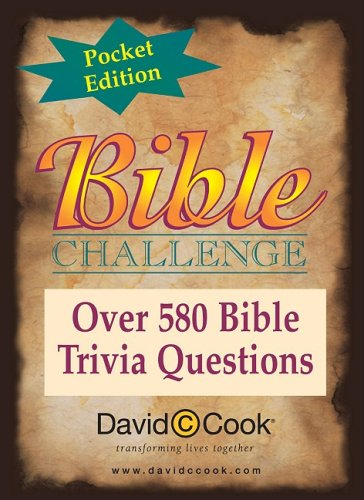 Bible Challenge: Pocket Edition (Over 580 Bible Trivia Questions)