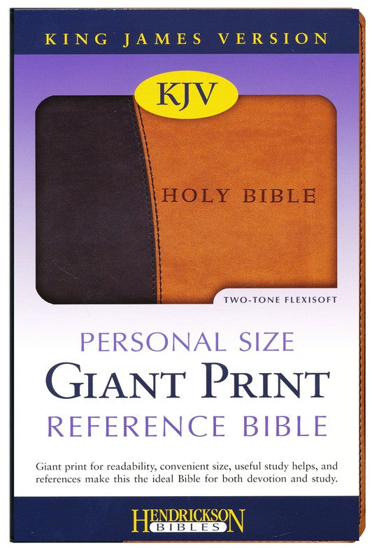 Bible: KJV, Personal Size Giant Print Reference Bible