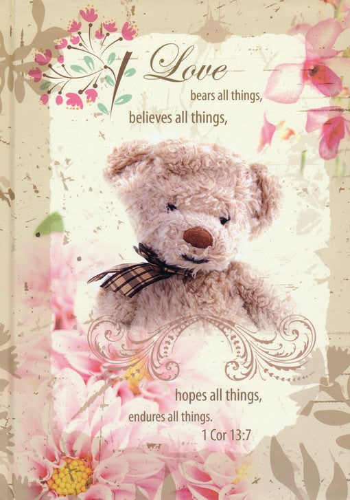Love Bears All Things Journal