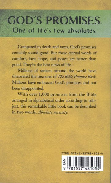 The Bible Promise Book, KJV