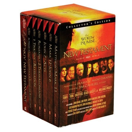 Audio Bible: NKJV, NT Dramatized, 20 CD set