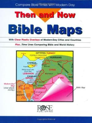 Then and Now Bible Map Book