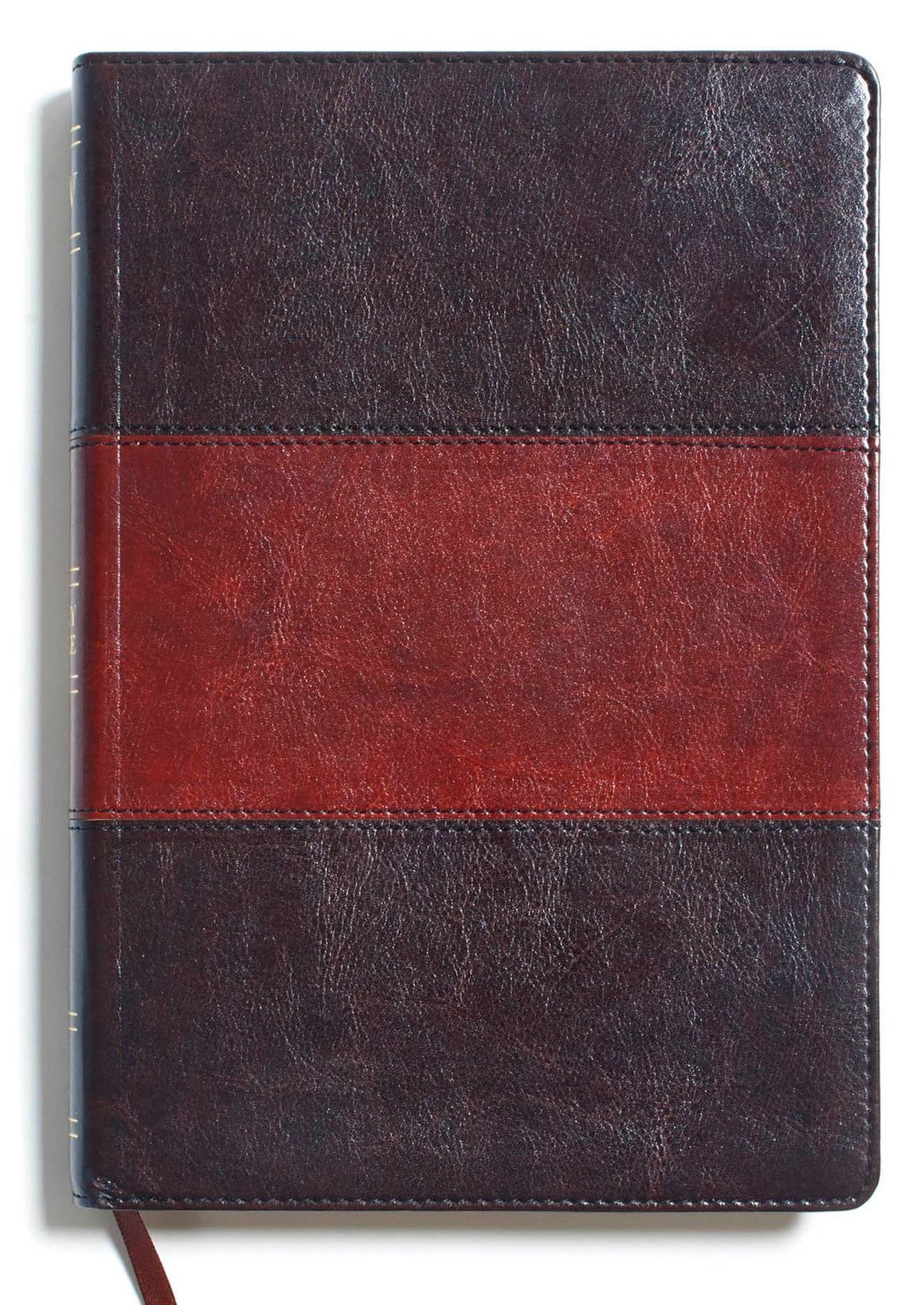 Bible: KJV, Large Print Ultrathin Reference Bible, Saddle Brown