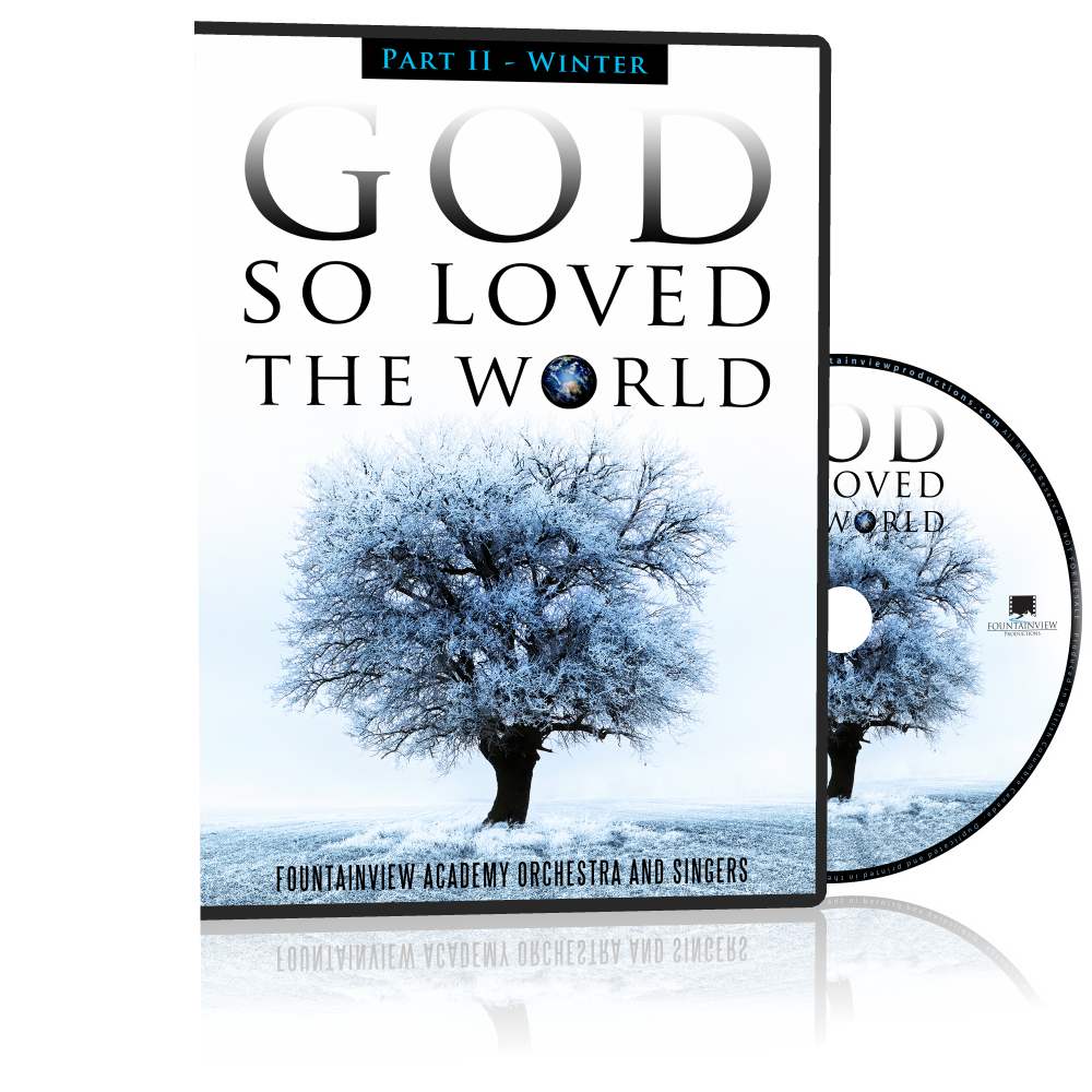 God so Loved the World - WINTER, DVD