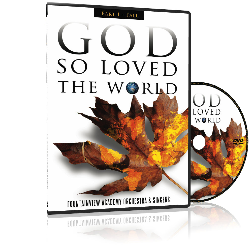 God so Loved the World - FALL, DVD