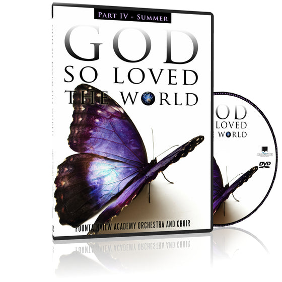 God so Loved the World - SUMMER, DVD