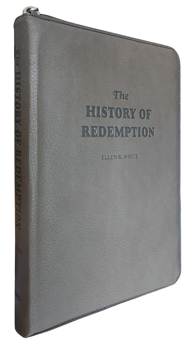 The History of Redemption, Leather Imitation, Grey