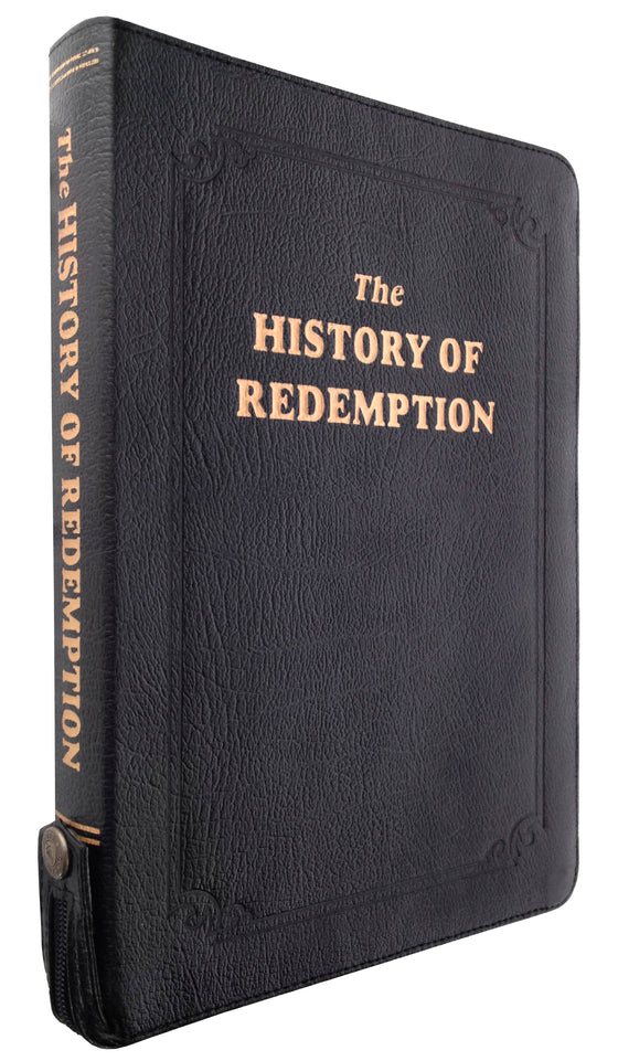 The History of Redemption, Genuine Leather, Large