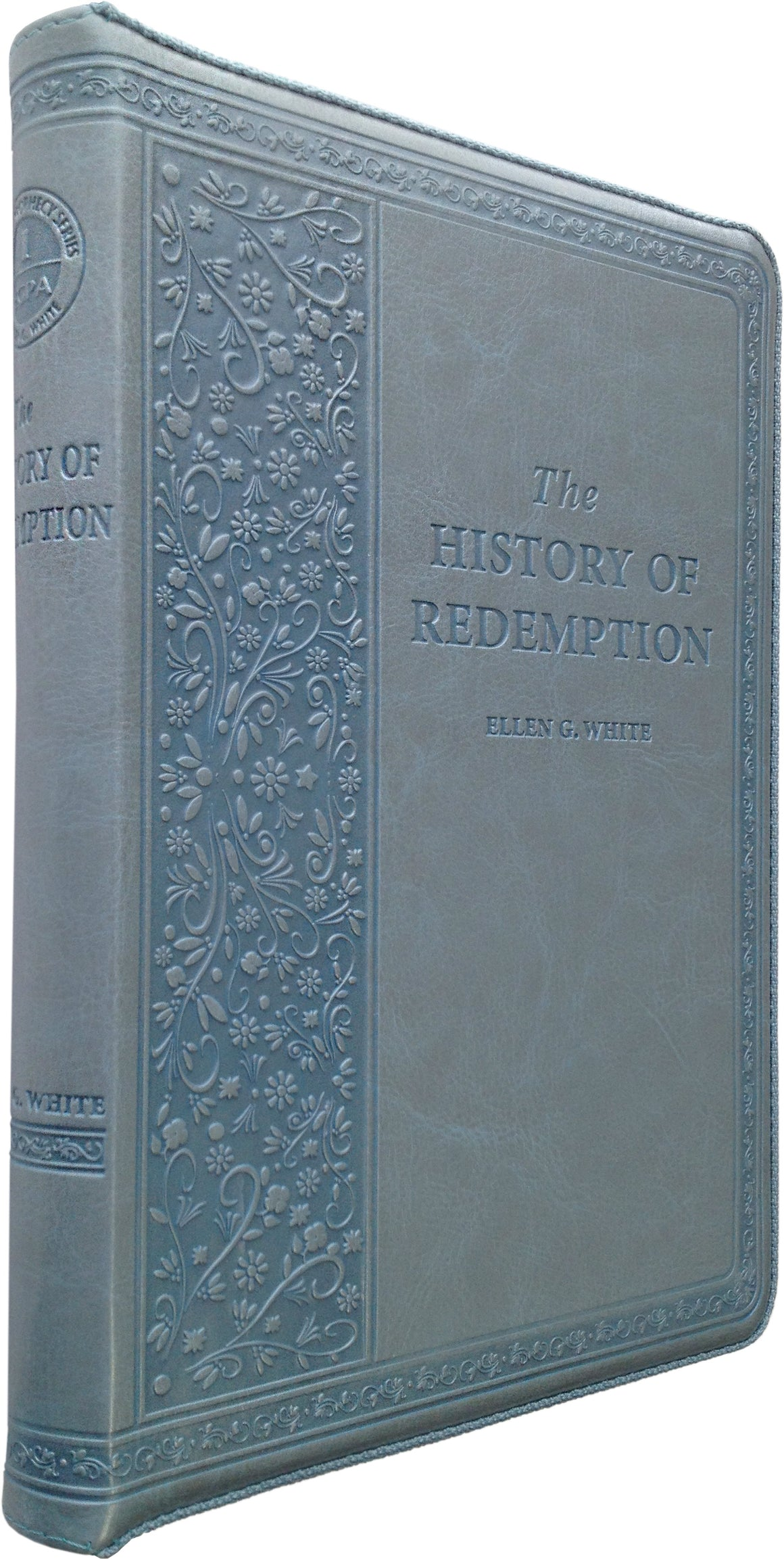 The History of Redemption, Leather Imitation, Silver-Blue
