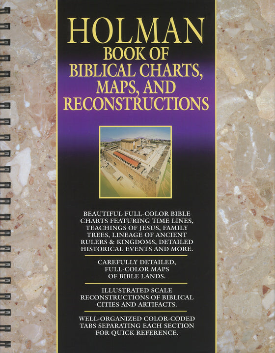 Bible Atlas With Charts, Maps, and Biblical Reconstructions