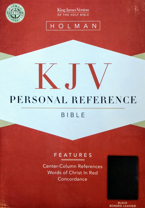 Bible: KJV, Personal Reference Bible, Bonded Leather, Black