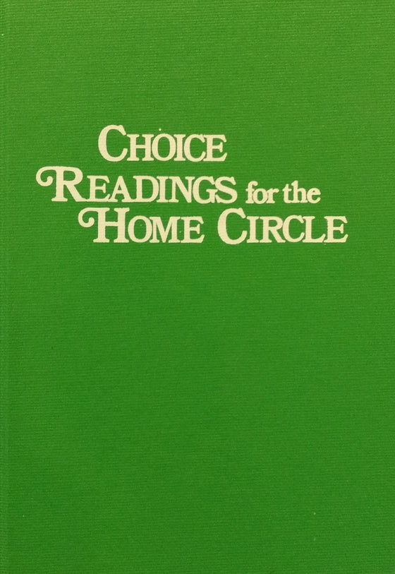 Choice Readings for the Home Circle