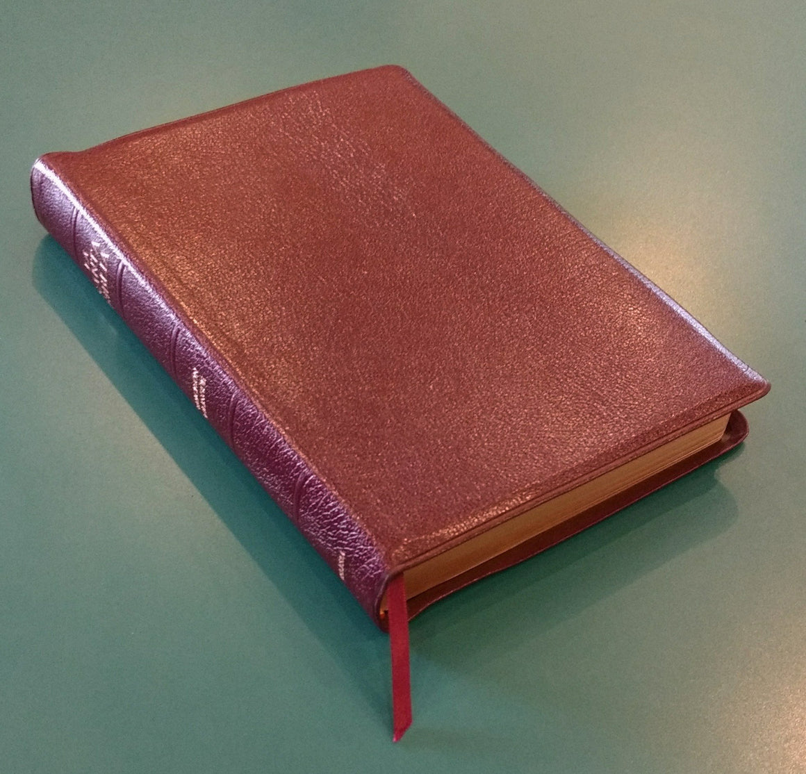 Bilingual Bible: KJV/RV 2005, Bonded Leather, Burgundy