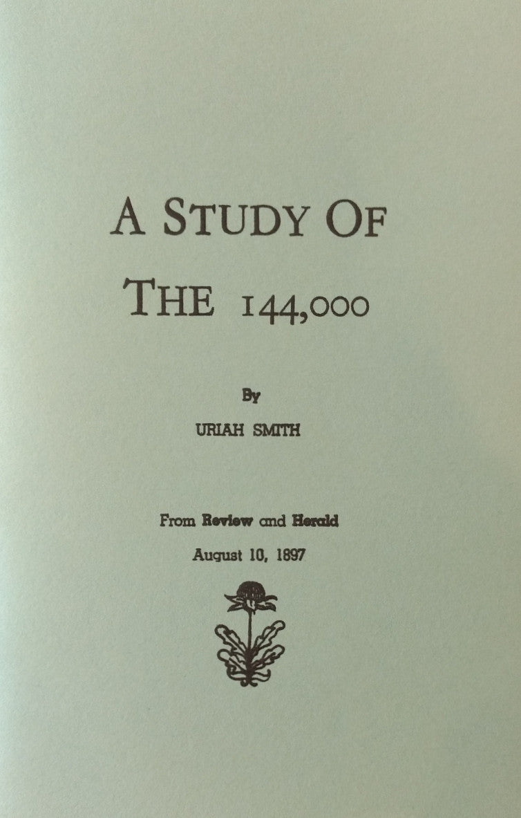 Study of the 144,000