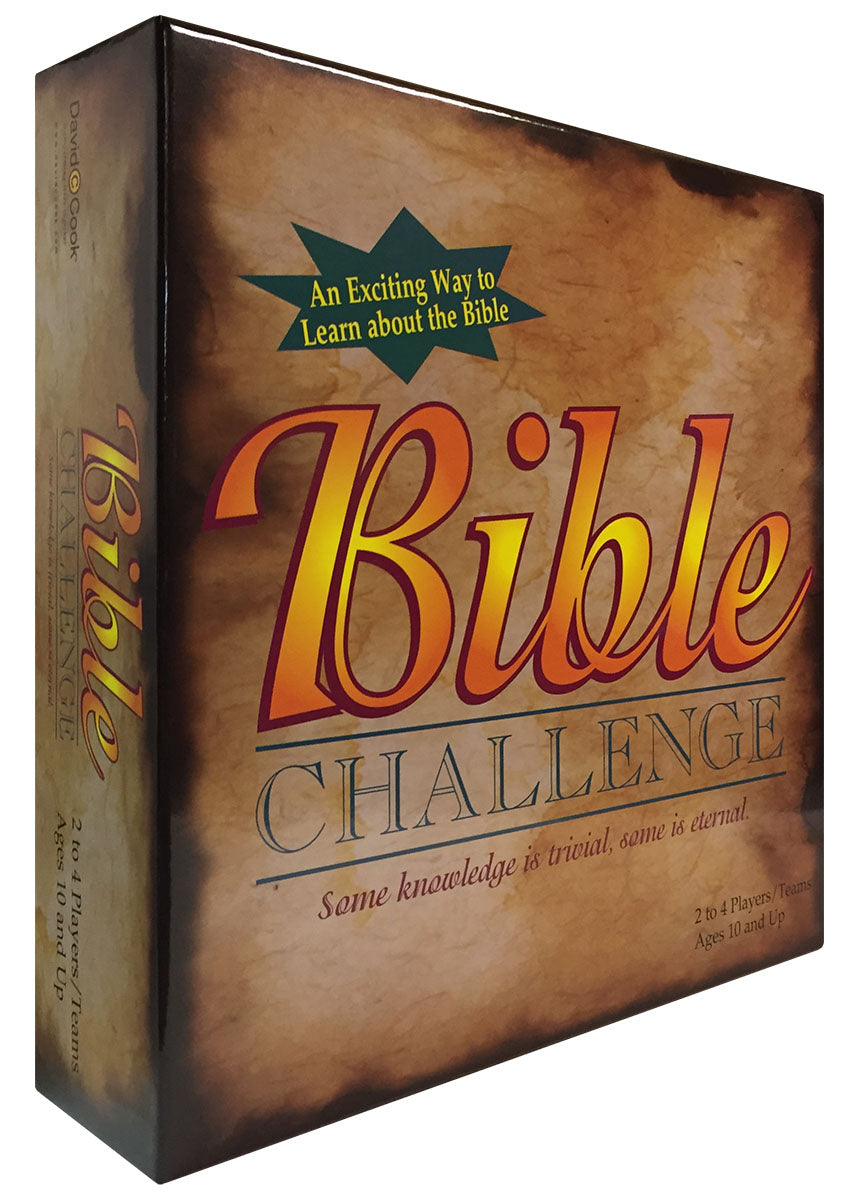 Bible Challenge Board (2100 Bible Questions)