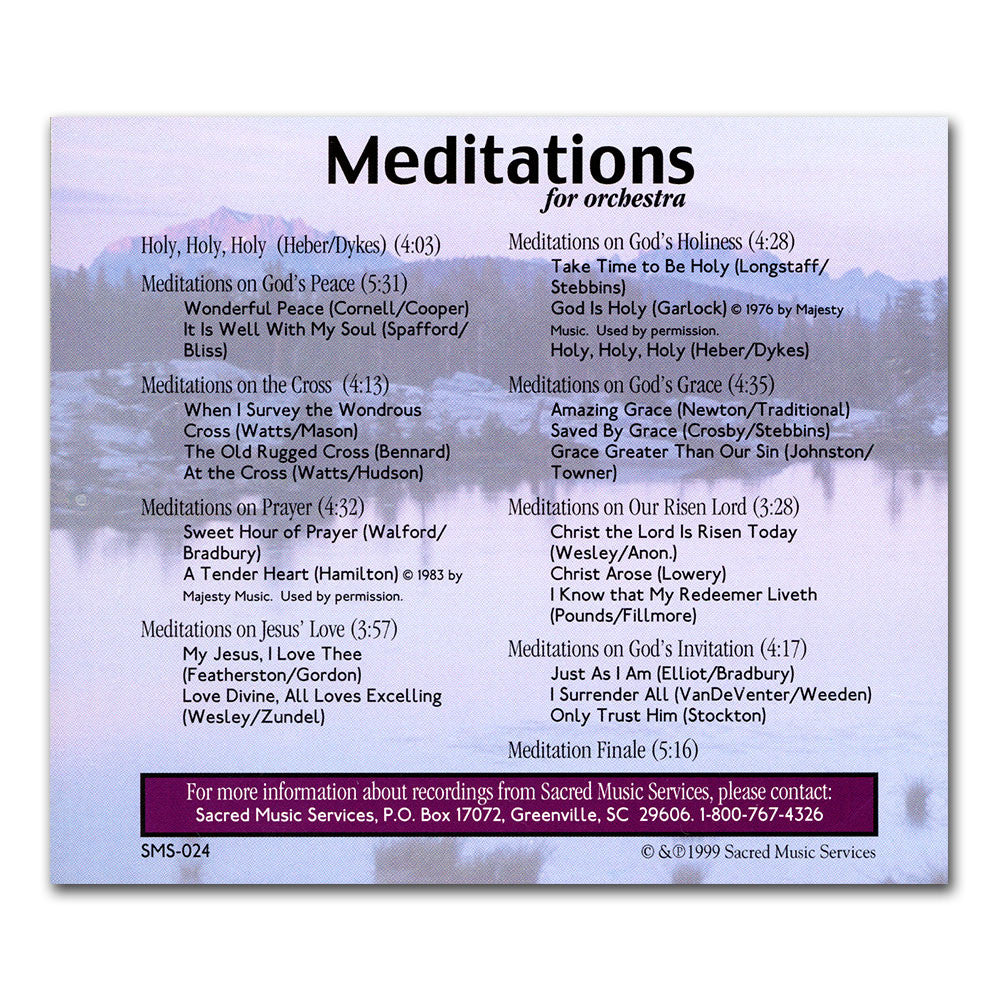 Meditations for Orchestra