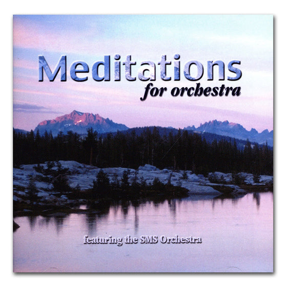 Meditations for Orchestra, CD