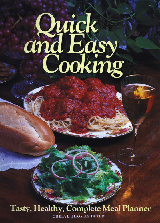 Quick and Easy, Cookbook