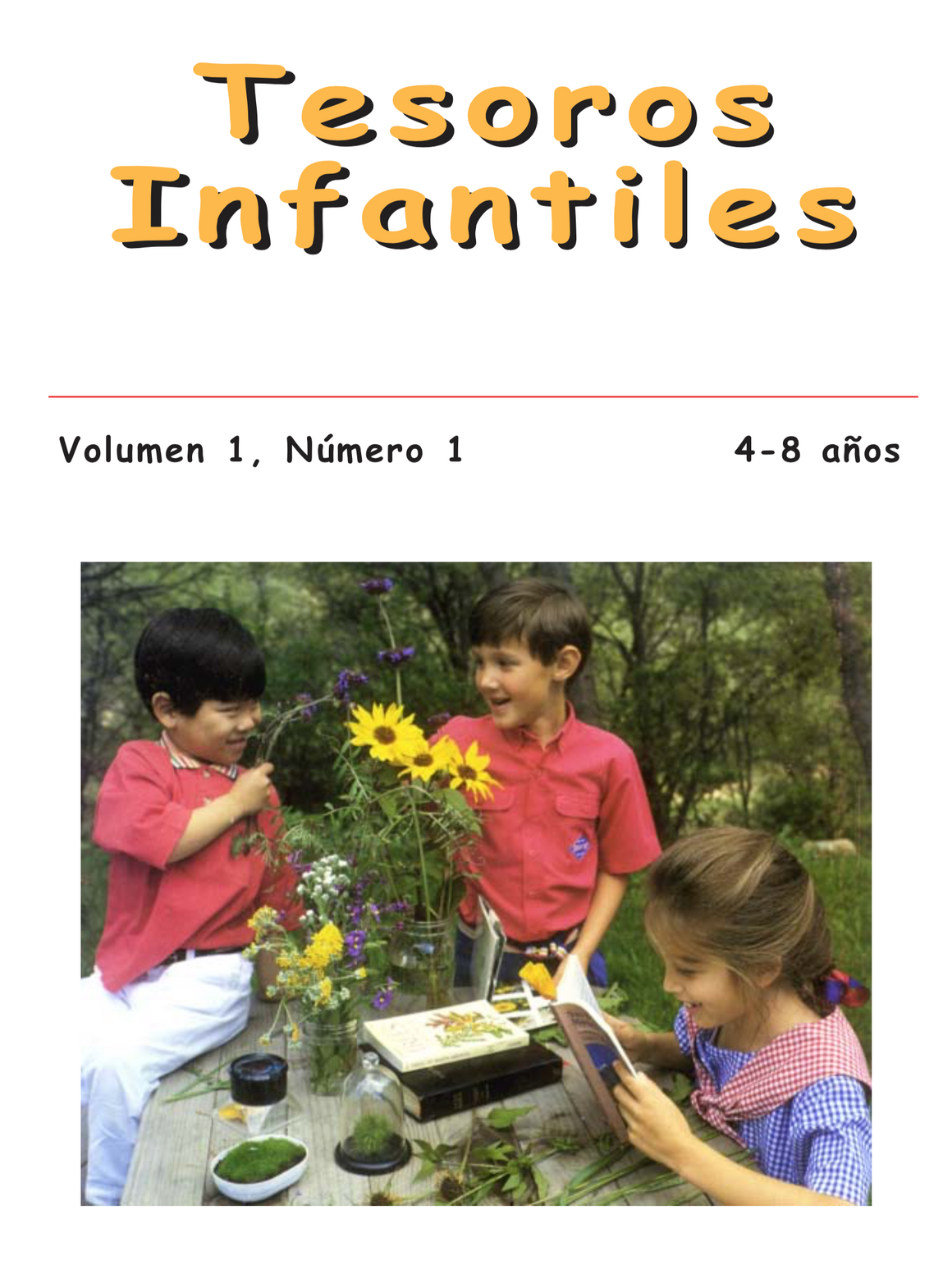 Spanish: Children's Treasures, Vol. 1, #1