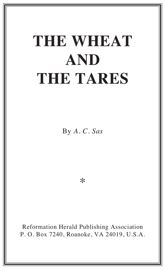 Wheat and the Tares