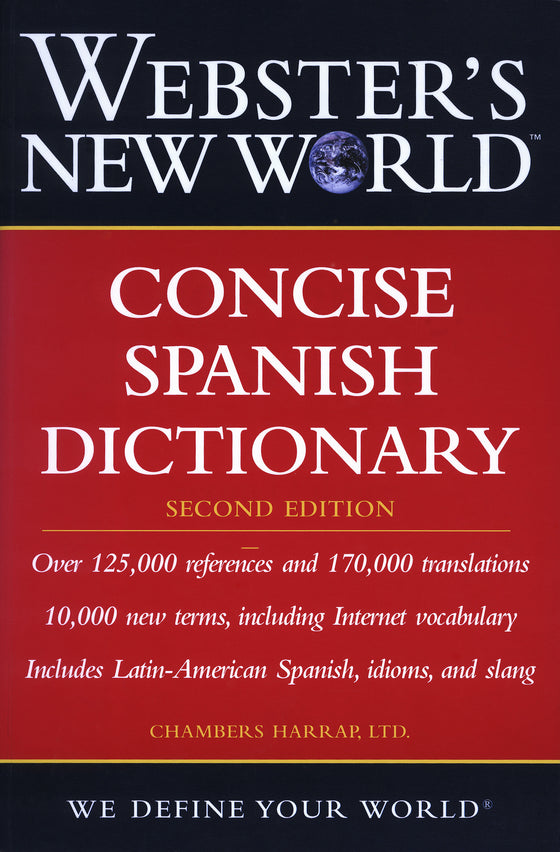 Webster's New World: Concise Spanish Dictionary, 2nd Edition