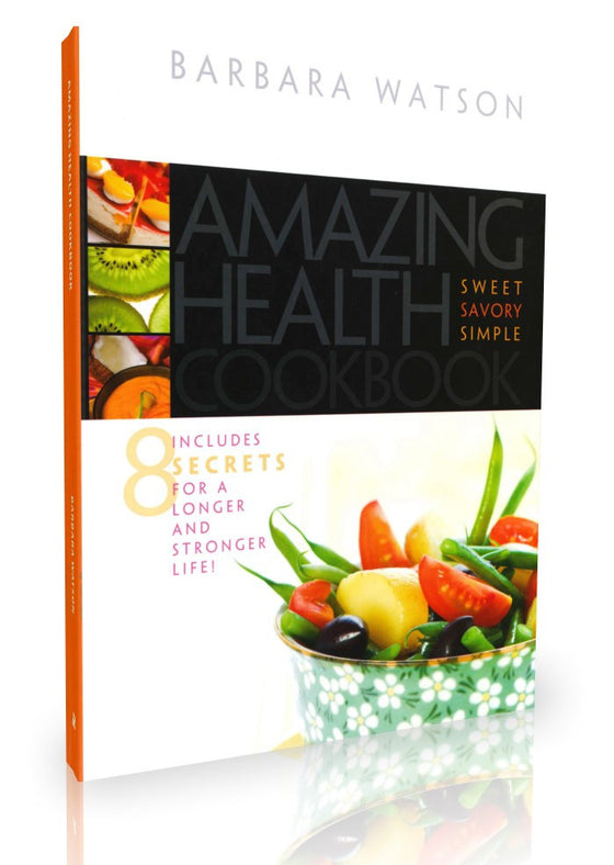 Amazing Health, Cookbook