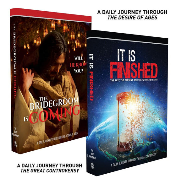 NEW! 2021 Devotional Set (The Bridegroom Is Coming / It Is Finished)