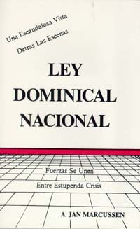 Ley Dominical Nacional--SPANISH (National Sunday Law)