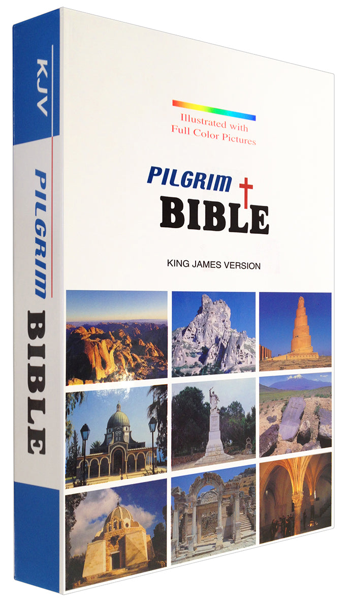 Bible: KJV, Pilgrim Bible, Illustrated with Full Color Pictures - 25% OFF