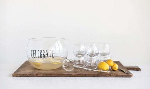 Celebrate Glass Bowl, Set of 14
