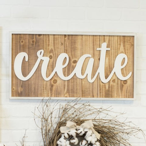 Create Word Art Sign