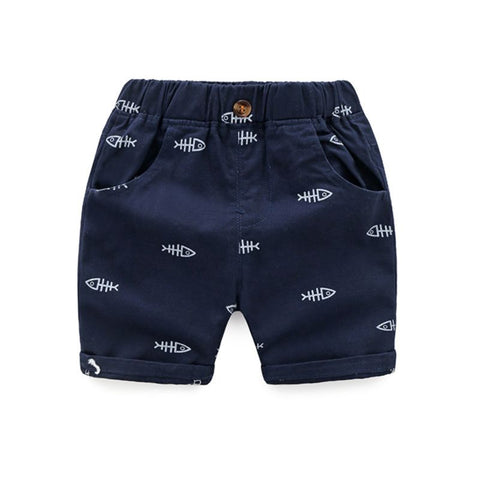 Fish Bone Toddler Shorts