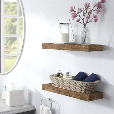 Wood Floating Shelves-2