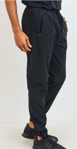 Men's Cinched Active Ankle Joggers