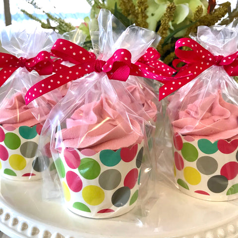 Cranberry Station White Tea Cupcake Bathbombs