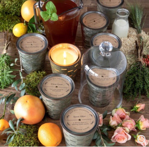 Park Hill Olive Bucket Candles