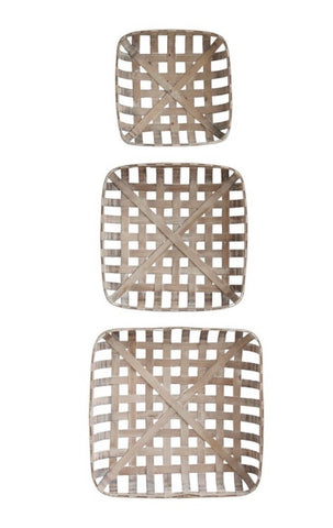 Tobacco Basket (set of 3)