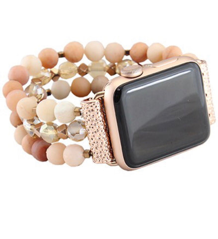 Beaded iWatch Bands-4 Colors