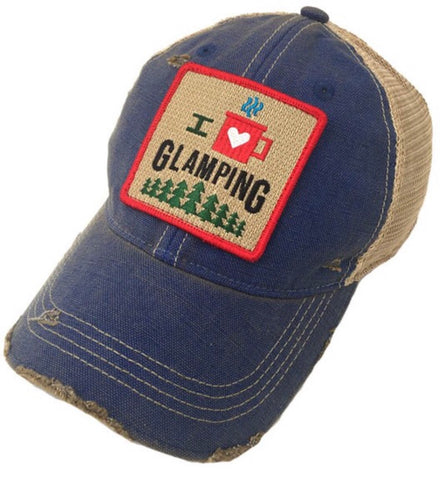 Distressed Glamping Hat