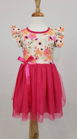 Sherbert Poppy Dress