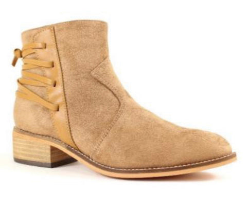 Chloe Whiskey Bootie