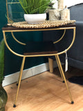 Decor Deal of the Day: MangoWood Gold End Table
