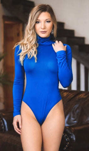 Royal Blue Body Suit