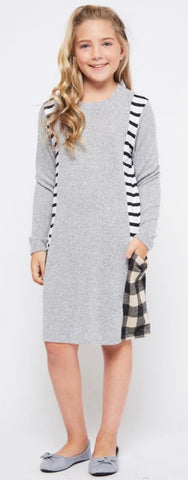 Cozy Midi Dress-Juniors