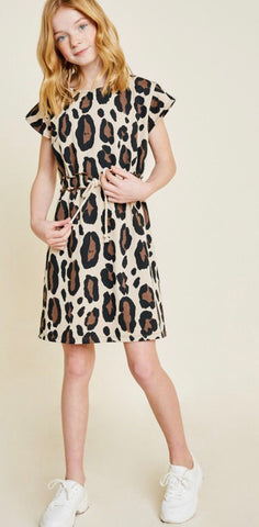 Juniors Leopard Dress
