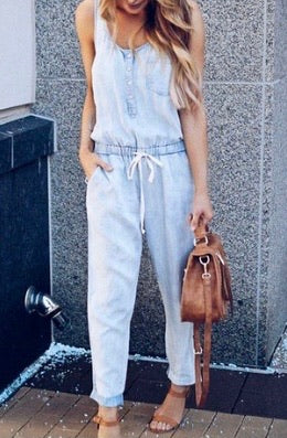Darla Denim Romper