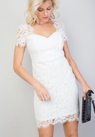 Lizzy Lace Midi Dress