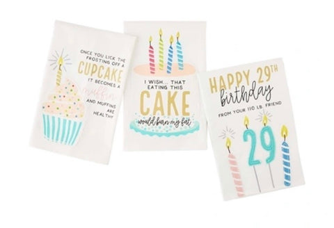 Birthday Cake Towels
